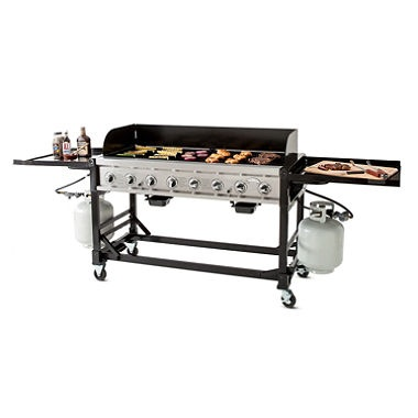 BBQ Grill 6' Stainless Steel without Hood